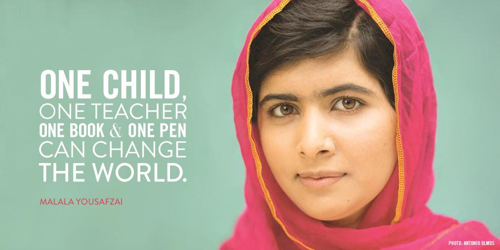 Malala Yousafzai: One Girl Can Change the World   Greenheart International